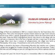 Feature in the UCCSA Newsletter